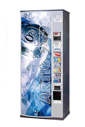 máquina de bebidas frías agua y refrescos Jofemar