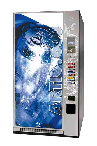 máquina de bebidas frías agua y refrescos Jofemar Artic 600