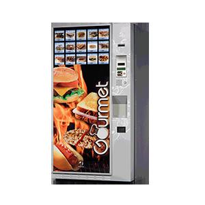máquinas vending comida caliente