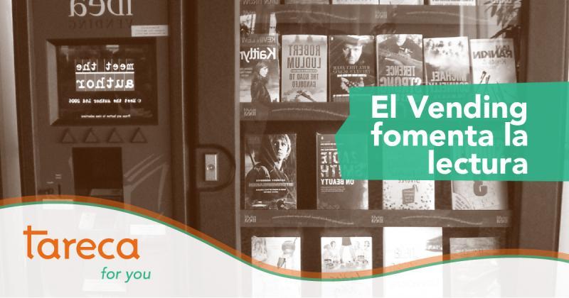 El vending fomenta la lectura: Una máquina que vende cuentos cortos para leer en el metro