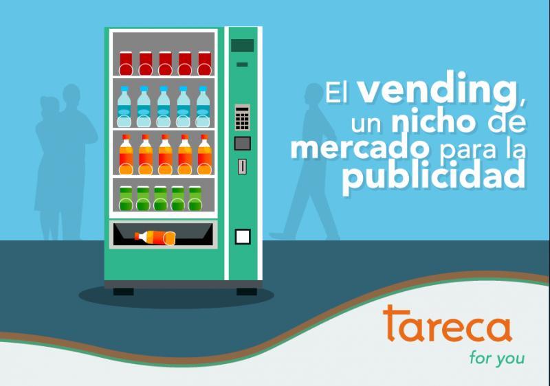 El vending, un nicho de mercado para la publicidad