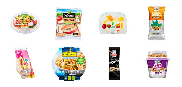 Productos saludables para máquinas Tareca Vending