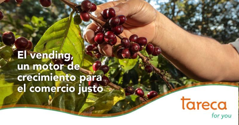 El vending, un motor de crecimiento para el café de comercio justo