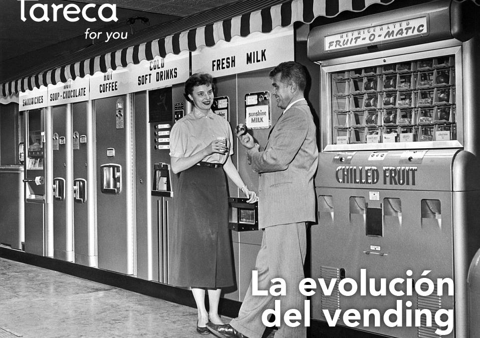 ¿Cómo eran y cómo son las máquinas expendedoras? La evolución del vending