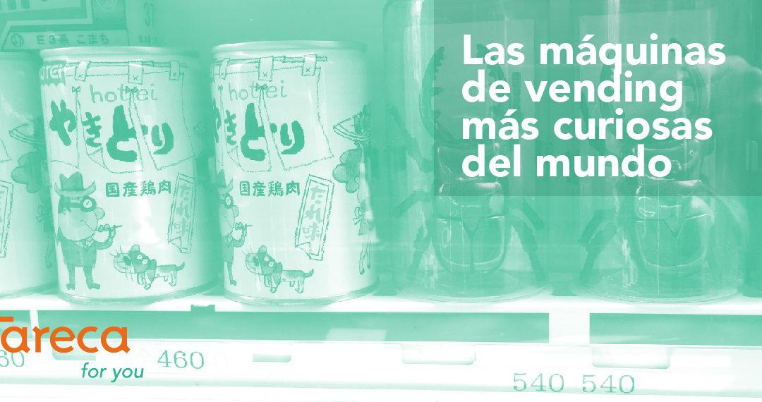 Las máquinas de vending más curiosas del mundo