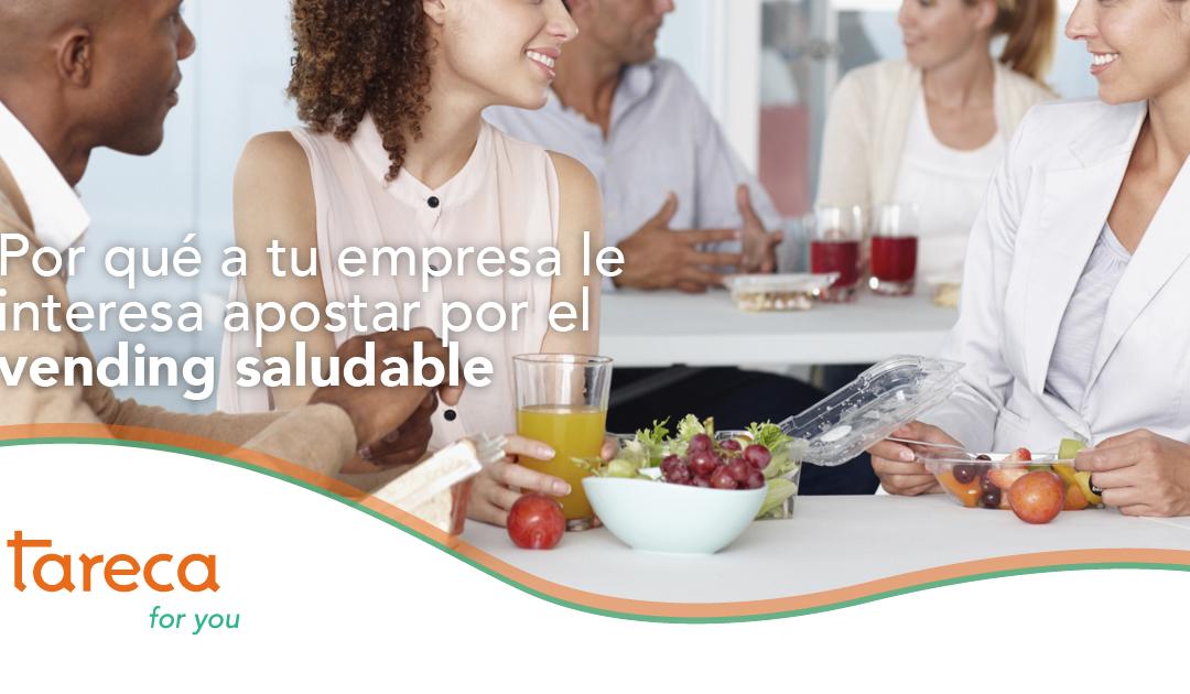 ¿Por qué a tu empresa le interesa apostar por el vending saludable?