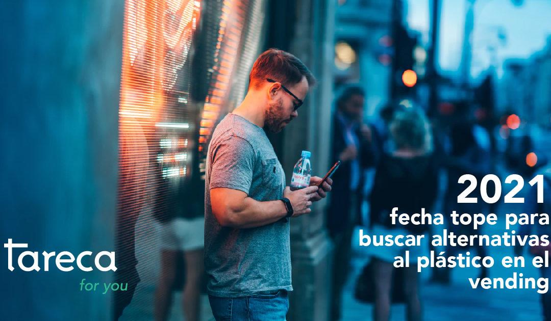 Las máquinas expendedoras tendrán que dejar de servir las bebidas en vasos de plástico y con paletinas fabricadas en este mismo material. Estos dos clásicos del vending tendrán que transformase de aquí al año 2021, según las nuevas normas y medidas que plantea la Unión Europea.