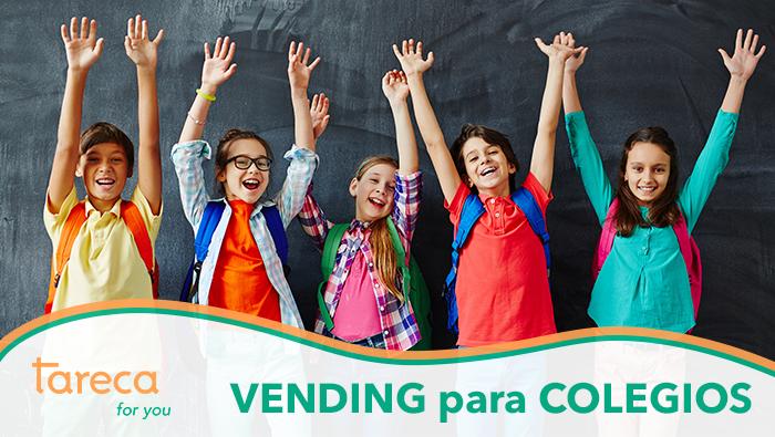 Ventajas de incorporar el vending en un colegio