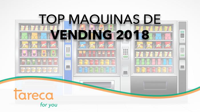Máquinas vending más instaladas en 2018