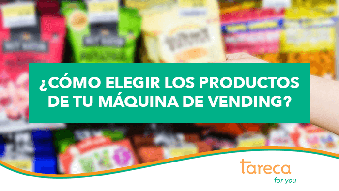 ¿Cómo elegir los productos de tu máquina de vending?
