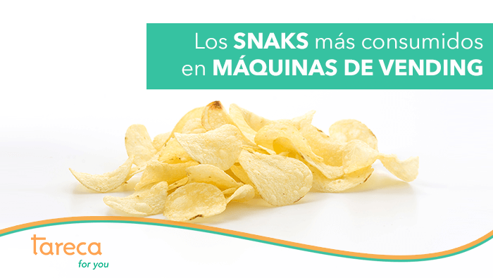 Los snacks más consumidos en máquinas vending