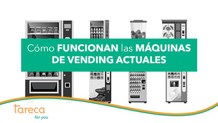 Funcionamiento de las máquinas vending actuales