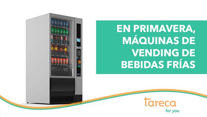 En primavera, apuesta por las máquinas vending de bebidas frías