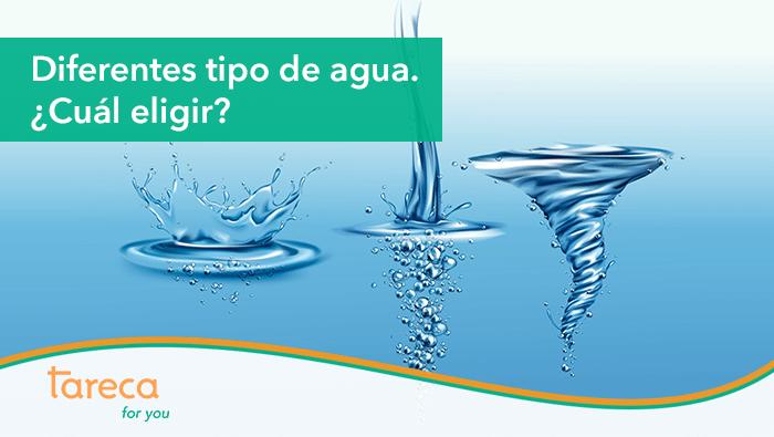 Diferentes tipos de agua. ¿Cuál elegir?