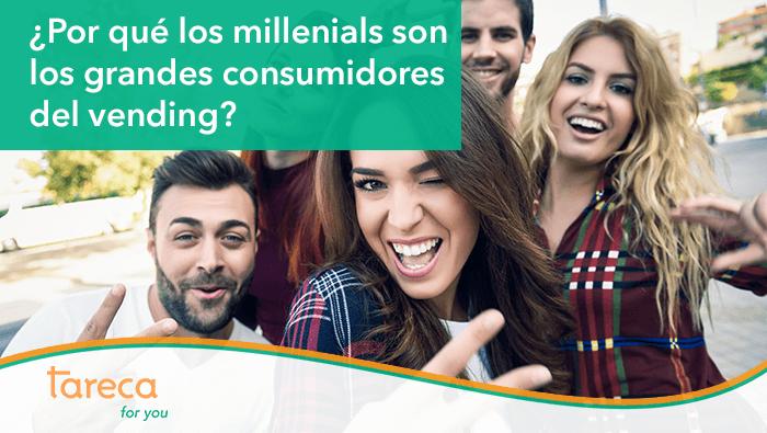 ¿Por qué los Millennials son los grandes consumidores del vending?