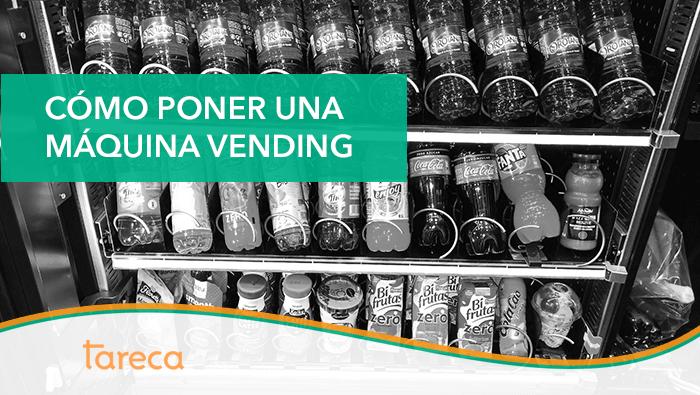 Cómo poner una máquina vending