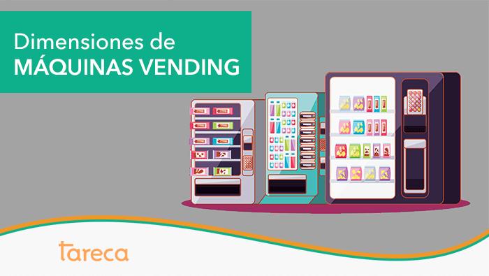 Dimensiones de las máquinas vending