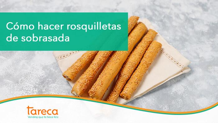 Las rosquilletas de sobresada on el snack perfecto para preparar en casa y conquistar a mayores y pequeños.