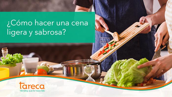 Hacer una cena ligera y sabrosa es posible con pocos ingredientes y unas cuantas buenas ideas
