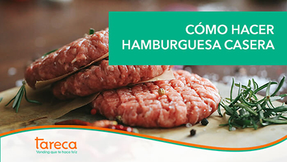 Cómo hacer hamburguesa casera